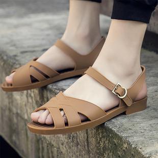 越南橡胶经典怀旧复古塑料军凉鞋男防滑休闲鞋爸爸男士沙滩鞋夏季