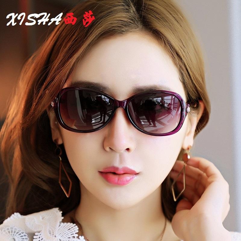 Sisa 2020 new womens polarized sunglasses elegant small frame small face retro driving Sunglasses