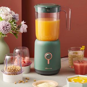 小熊榨汁机家用多功能榨汁杯电动便携式小型迷你炸水果汁机料理机