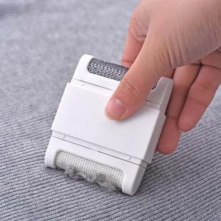 日本衣服去毛球器除毛器家用便携免电双头除尘刷除毛刷毛球修剪器