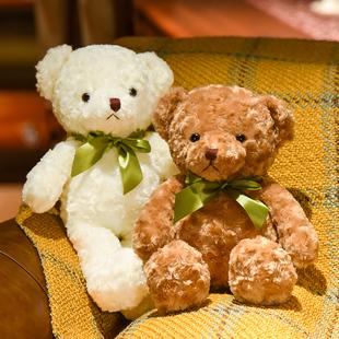 小泰迪熊布洋娃娃毛絨玩具小熊公仔可愛熊熊小號女孩熊貓布偶玩偶