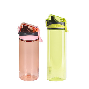 茶花女塑料便携简约杯子夏季随手杯