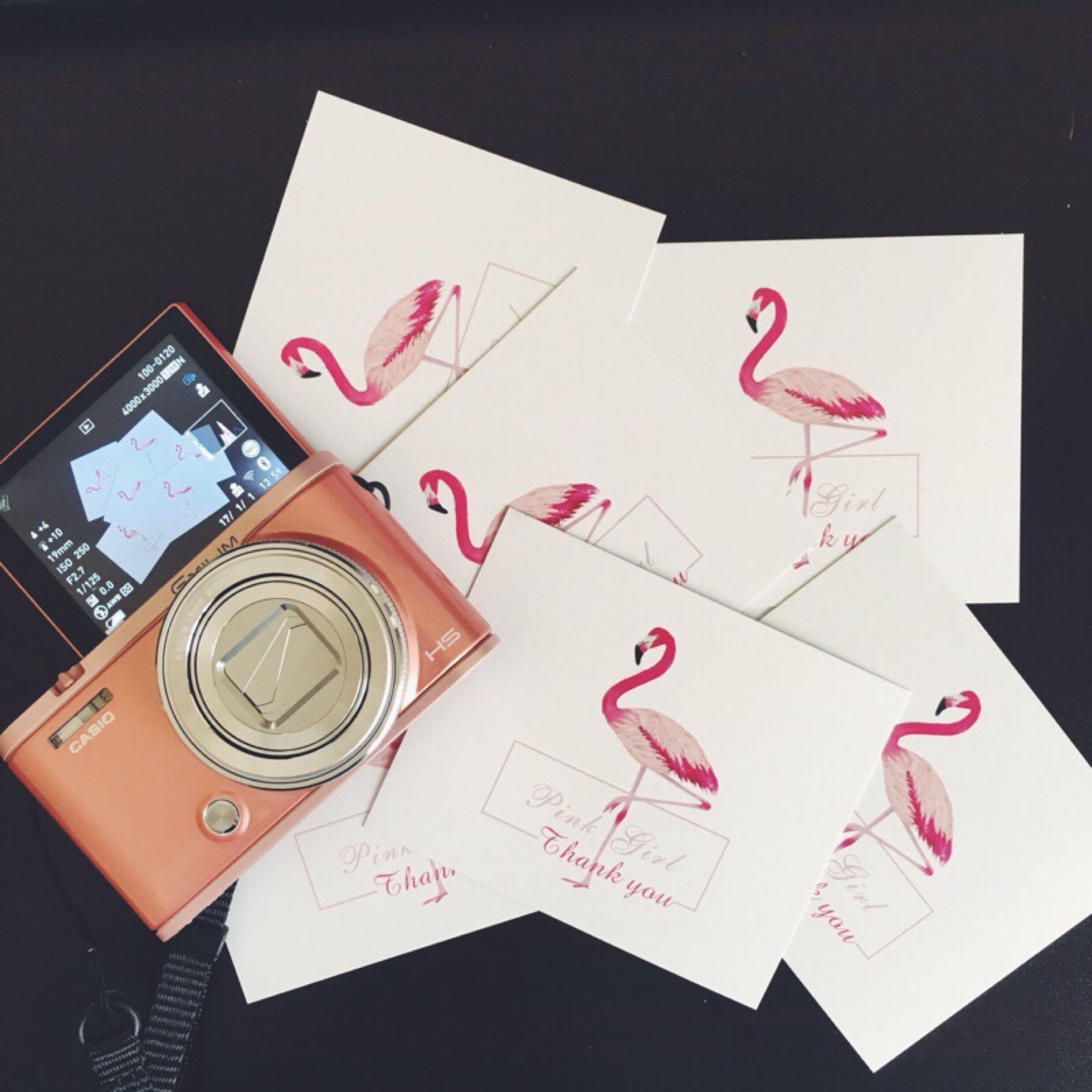 售后服务卡返现明信片定制文艺小清新宣传感谢小卡片定做印刷设计