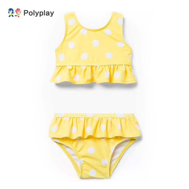 2019波里波丽新款儿童分体游泳衣(非品牌)