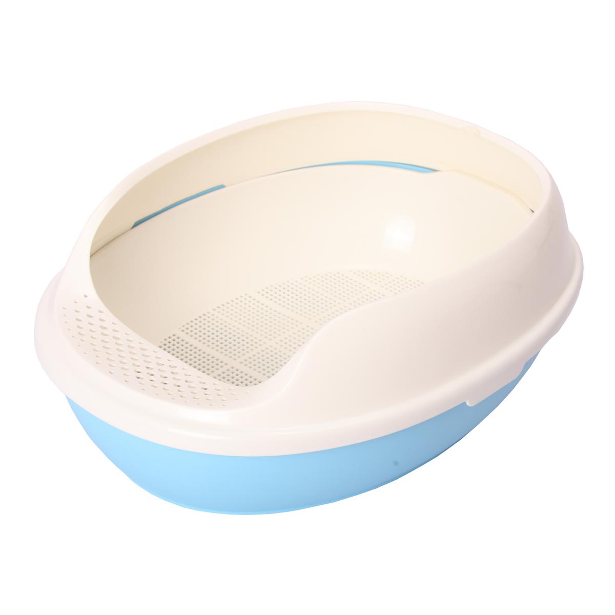 美卡貓砂盆膨潤土型 美卡貓廁所 膨潤土 半封閉式貓咪廁所
