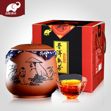 Ancient street tea, Yunnan Menghai Puer tea, ripe tea, old tea head, glutinous rice, fragrant Puer tea, small Tuocha 500g