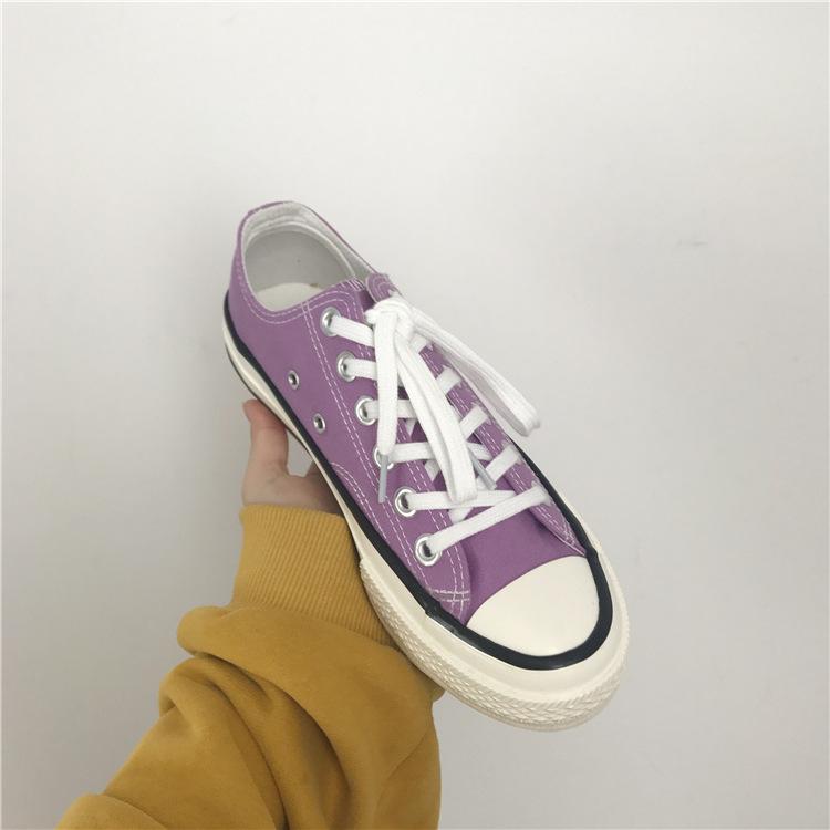 女鞋情侣帆布鞋