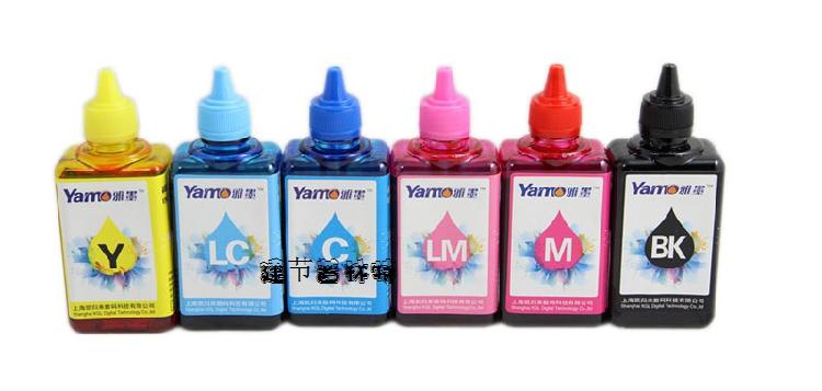 雅墨EP-T50适用于4色5色6色爱普生打印机连供通用高级染料墨水