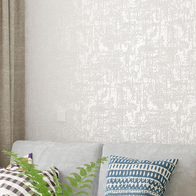 3D立体客厅卧室背景墙壁纸现代简约无纺布硅藻泥墙纸素色纯色