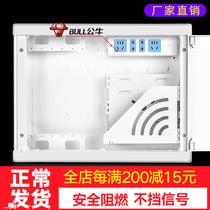 光纖箱家用多媒體箱弱電箱暗裝入戶信息箱網絡集線箱布線箱特大號
