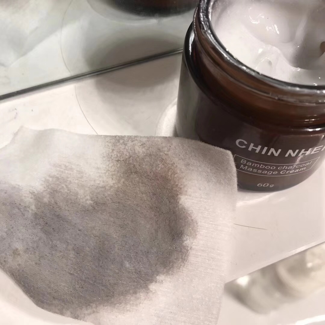 Chuner cleansing and purifying pores, removing dirt, dredging pores, sucking out dirt, exfoliating and makeup removing Massage Cream