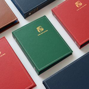 拍立得皮革相册本迷你照片3寸4寸5寸家庭影集收藏纪念册插页式