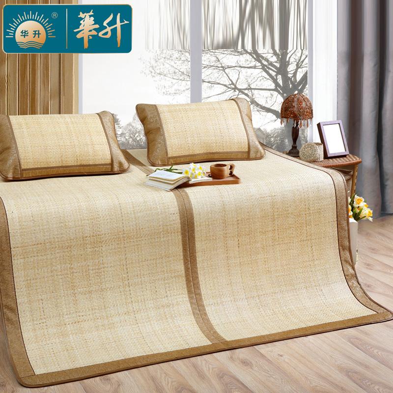 华升天然印尼藤席可折叠白藤席1.8米三件套加厚真藤席1.5m夏凉席,可领取50元天猫优惠券