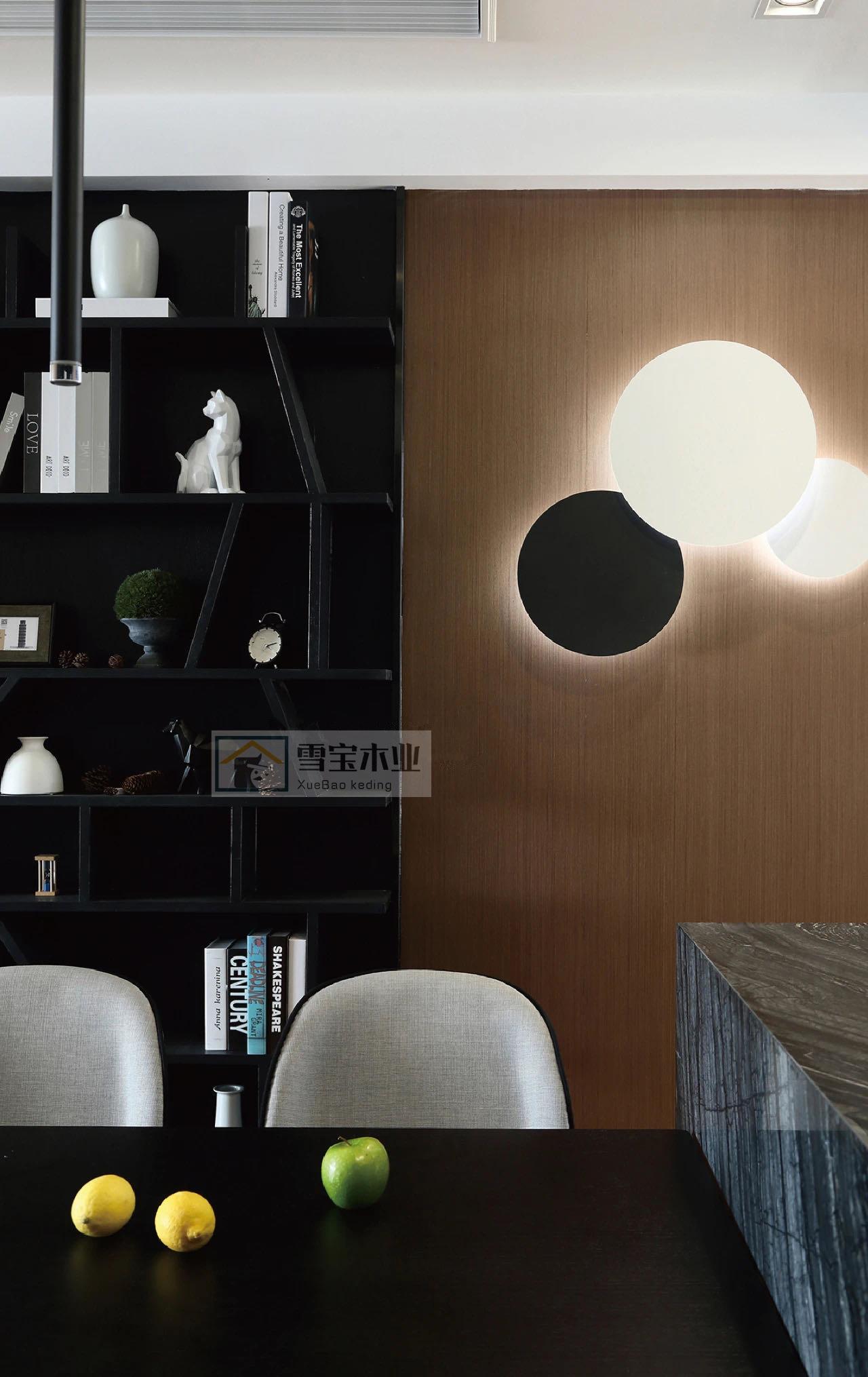雪宝KD黄杨木直纹饰面板免漆木饰面背景墙科定板装饰板涂装木皮板
