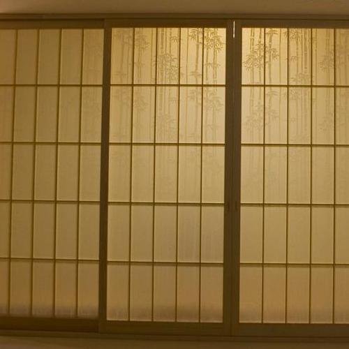 盛唐和室樟子门塌塌米格子门定制障子门地台移门定做榻榻米推拉门