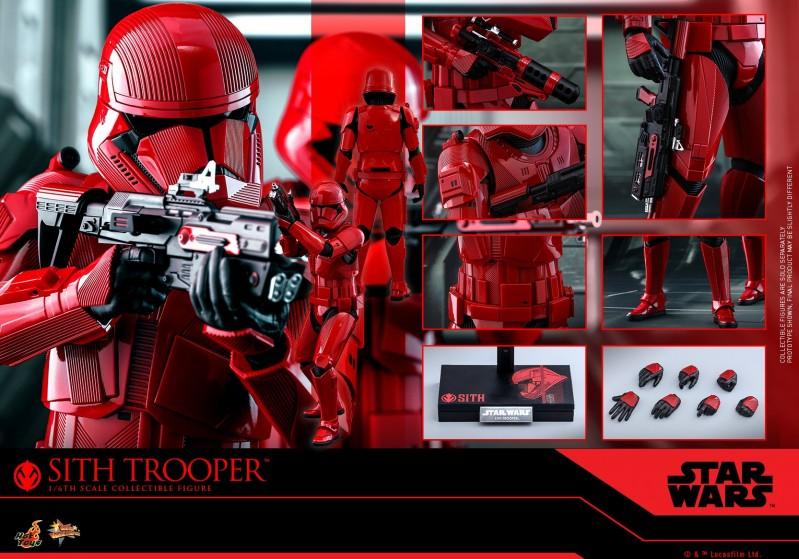 Hot Toys  MMS544 1/6 收藏人偶《星球大战9:天行者崛起》西斯兵