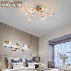 沃嘉北欧风新款创意浪漫温馨吸顶灯后现代简约客厅餐厅主卧室灯具