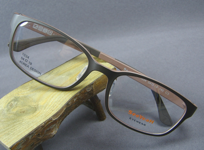 Super light new neutral myopia glasses for male and female students