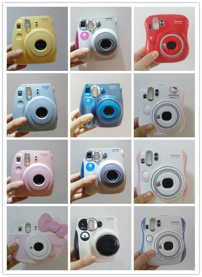Бесплатная доставка подержанный фудзи бить стоять получить mini8/7s/9/25/7090 прекрасный цвет самому заказать ретро фильм мини камера