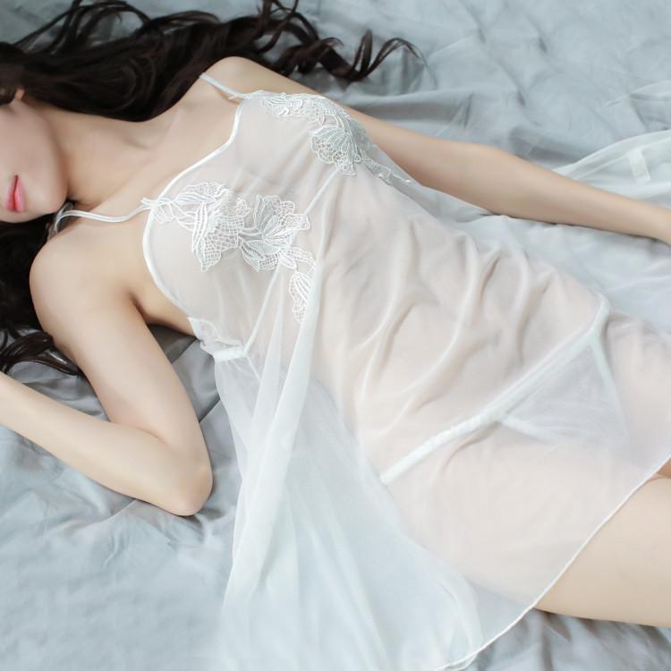 性感睡衣女夏超薄成人火辣情趣内衣透明吊带睡裙情调衣人老公短裙