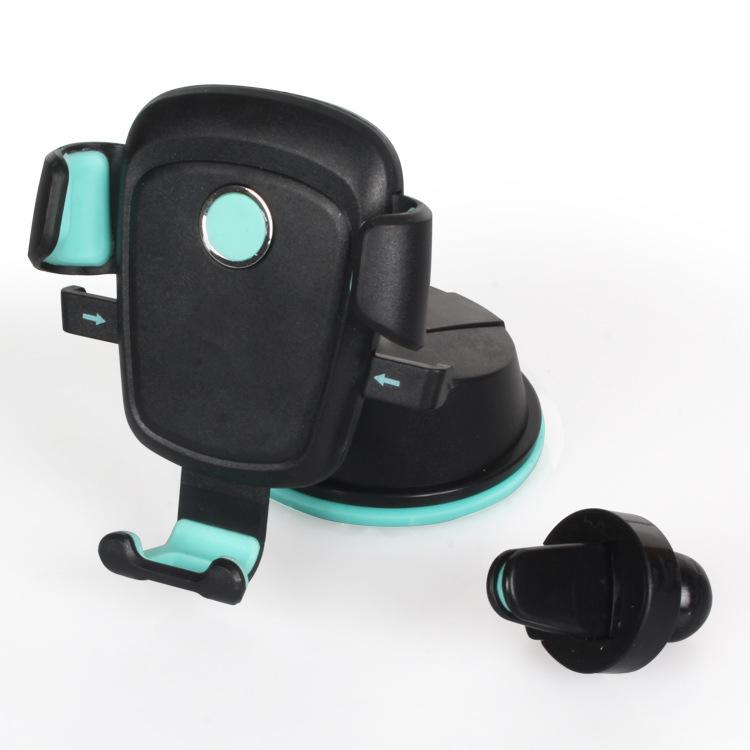 新車の車載用携帯ホルダ吹き出し口吸盤式自動ロック非重力車ナビゲーション携帯ホルダ