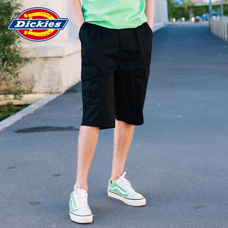 Dickies工装风多袋短裤 男式腰部抽绳休闲短裤工装裤宽松休闲8894
