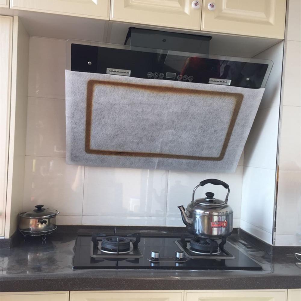 新品加厚厨房防油贴膜抽油烟机伴侣滤油棉网滤油网过滤网贴纸大码