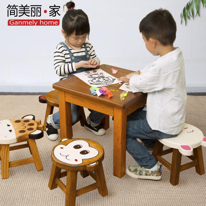 子供の学習テーブル環境に優しい木製の幼稚園の子供たちのデスクは、完全な手作りのアイデアの漫画を描くデスクです。