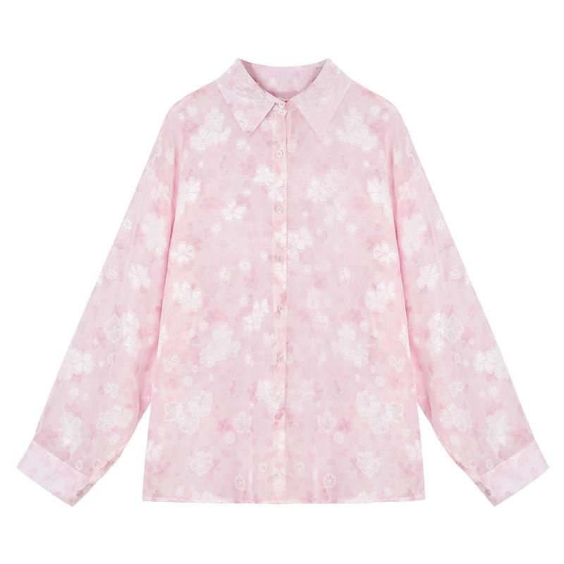 长款碎花衬衫怎么搭配:碎花衬衫搭配这些