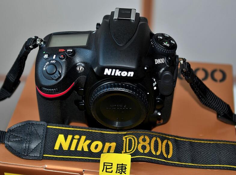 Nikon/尼康 D800单机 D800E套机  24-70 全画幅单反 正品行货