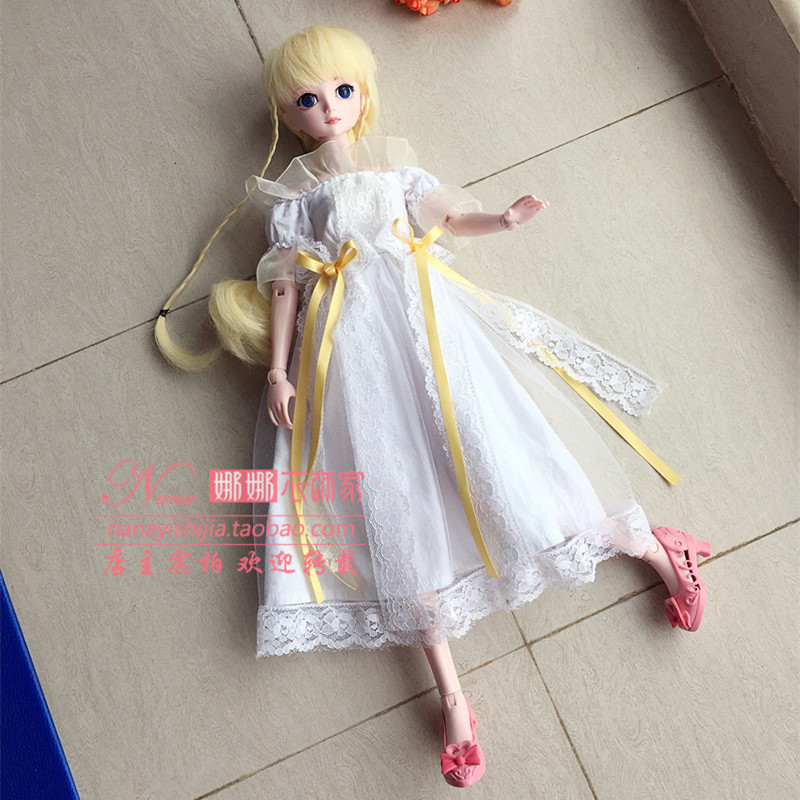 Night Laurie leaf Laurie doll quality clothing BJD Princess Dress Lace Bow 1 / 4 dress dress dress package
