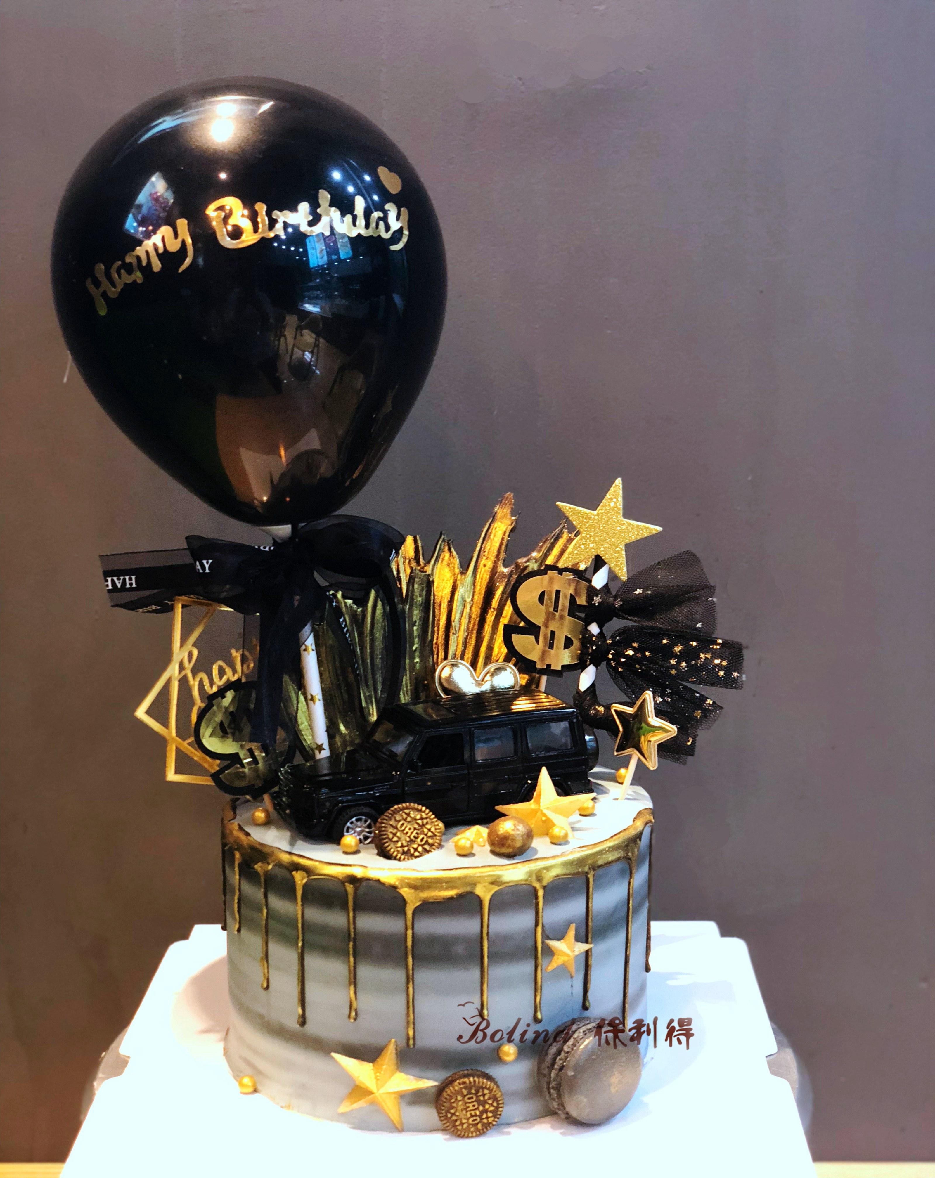 11月05日最新优惠大G小汽车生日蛋糕送男生男友男孩ins抖音网红长沙同城配送