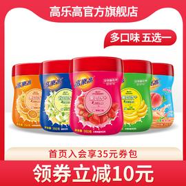 高乐高果奶优+350g草莓味果珍果汁粉速溶冲饮固体饮料图片