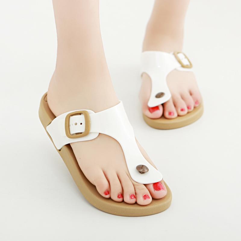 夏季拖鞋女沙滩人字拖防滑情侣女鞋时尚夹脚男平底凉拖鞋厚底平跟