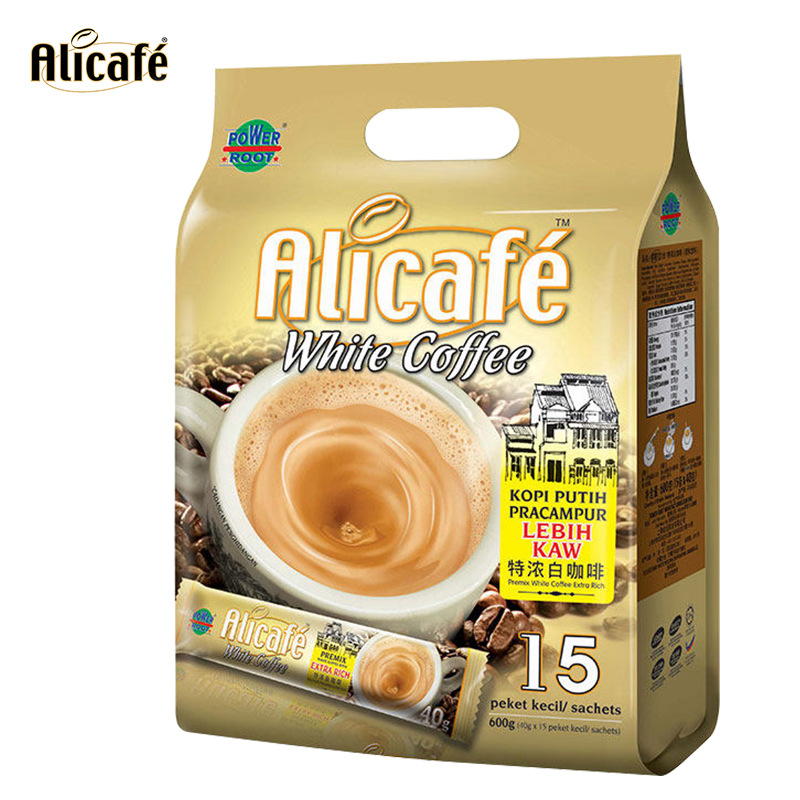 Alicafe feiteli strong white coffee imported from Malaysia 40g * 15pcs 600g