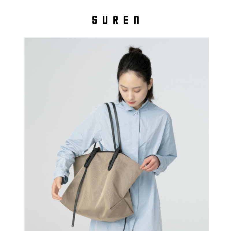 Amateur original design 2020 new shoulder bag female large-capacity tote bag simple high-end all-match dumpling bag