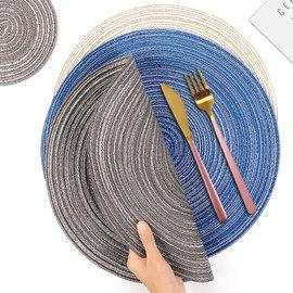 餐盘垫碗垫子西餐垫隔热垫ins风家用餐桌垫北欧防烫餐具耐热杯垫图片