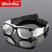 Bertha打專業籃球眼睛裝備戶外運動眼鏡足球防霧護目鏡可配近視男