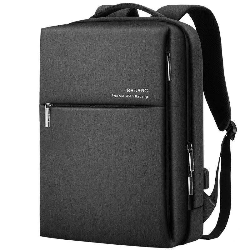 Large-capacity business computer backpack men's backpack fashion trend simple student school bag leisure business travel