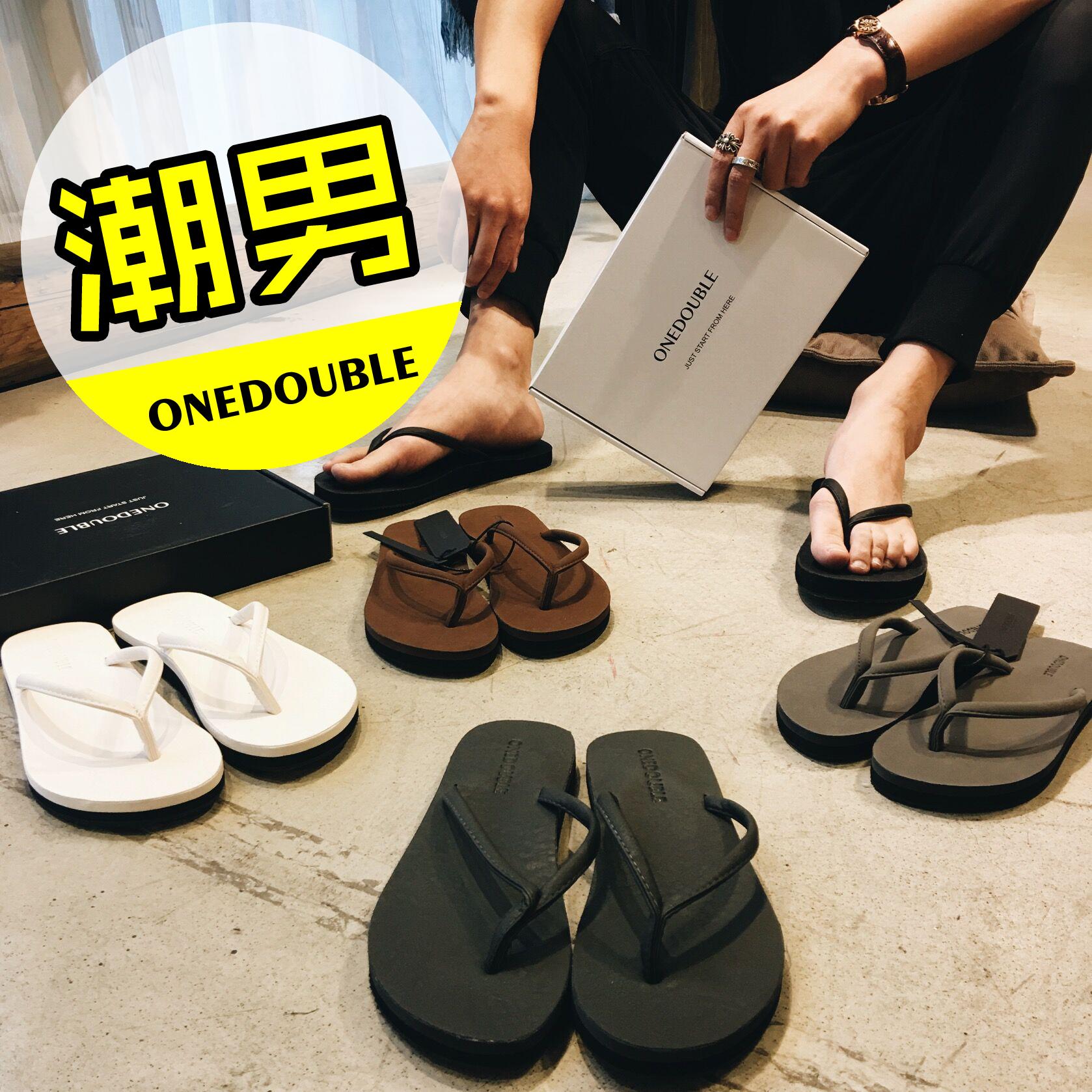 Тенденция персонализированные флип-флоп мужской корейской версии скольжения износ сплошной цвет щепотку отдых пляж обувь и тапочки мужские летние пакет почты