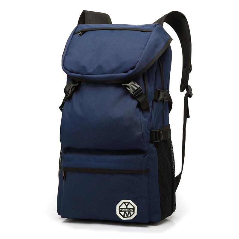 遊棉大容量戶外旅行背包男 登山雙肩包男旅遊 電腦包書包
