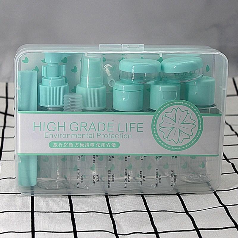 乳液便捷套盒洗护小白防晒分装瓶(非品牌)