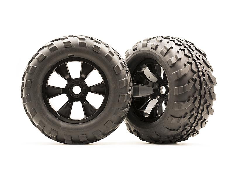大菊花模型#2000 TYRANT原装轮胎ASSY 1对装