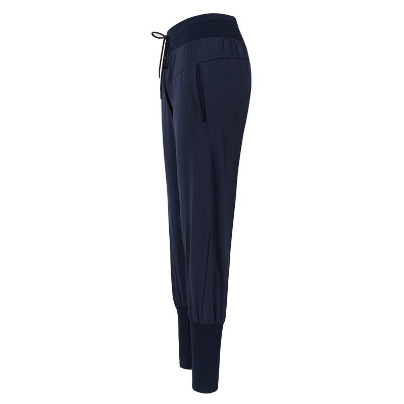 健身女孩网红运动裤宽松速干收口束脚跑步健身长裤显瘦高腰瑜伽裤