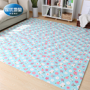 臥室拼接地毯滿鋪地板墊子加厚兒童榻榻米客廳拼圖泡沫地墊60x60