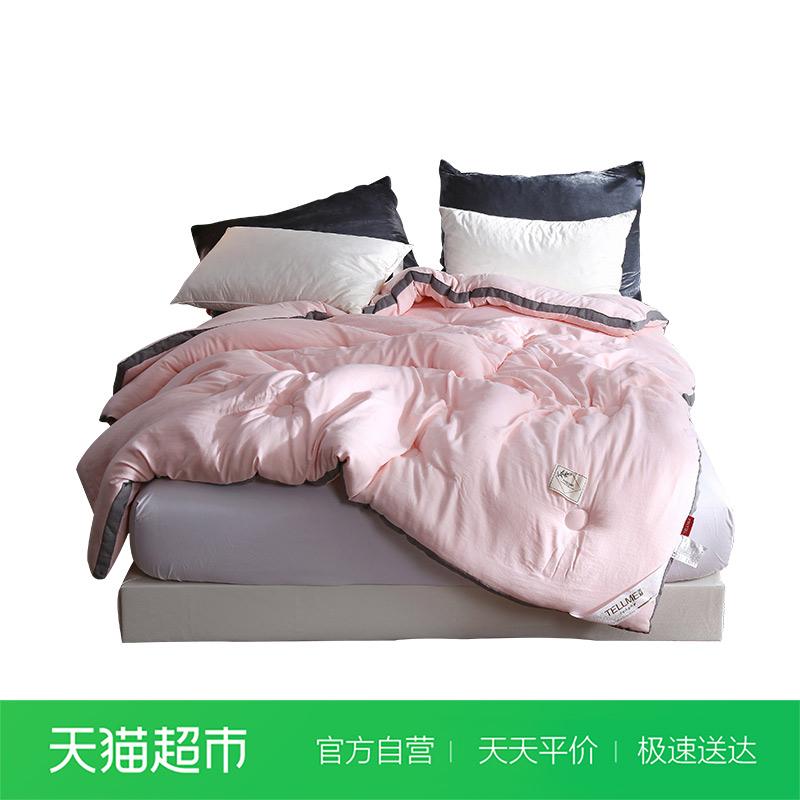 天魅家纺被子水洗棉暖阳绒冬被加厚保暖冬被被芯双人2米棉被褥7斤有赠品
