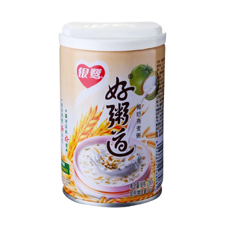 银鹭好粥道椰奶燕麦粥280g/罐营...