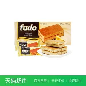 马来西亚进口福多提拉米苏网红蛋糕手撕面包432g/盒糕点进口零食