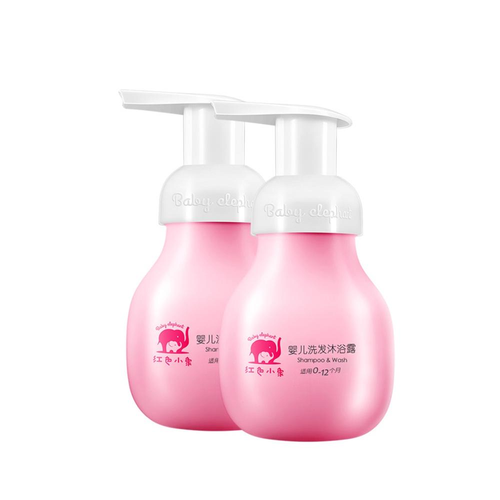 红色小象沐浴露二合一99ml*2洗发水质量怎么样