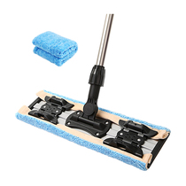Beautiful ya Kiss 400 flat mop large household towing mop rotating household tile free hand wash